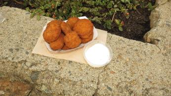 Deep Fried Zucchini with Ranch